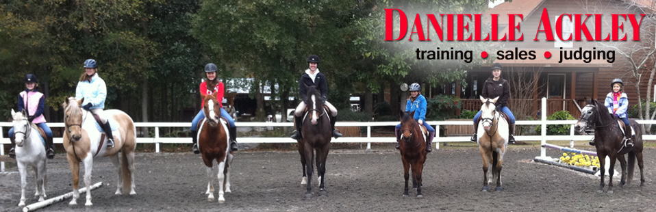 Danielle Ackley :: Hunter/Jumper Training, Horse Sales, Equine Management